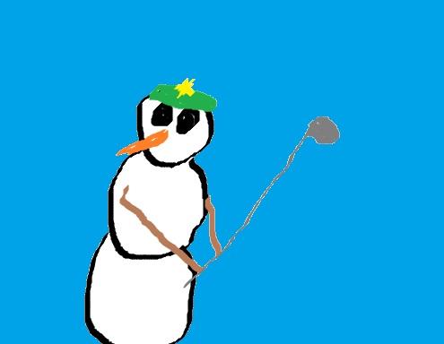 snowmangolf